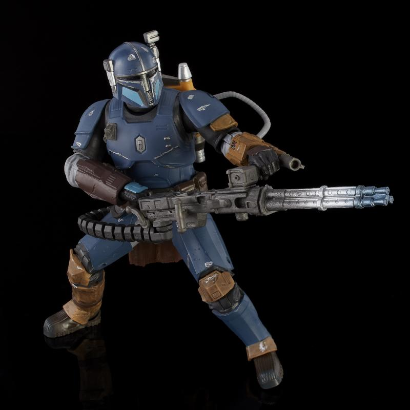 Star Wars: The Black Series - Heavy Infantry Mandalorian Deluxe Action Figure
