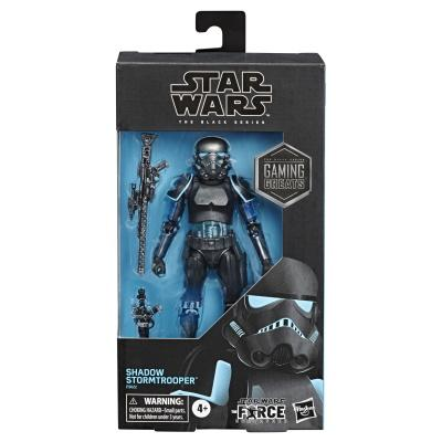Star Wars: The Black Series - Gaming Greats Shadow Stormtrooper Figure [Only at GameStop]