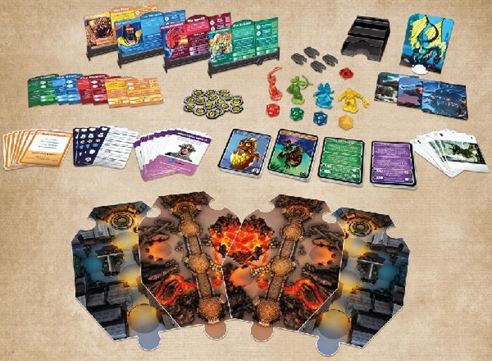 Dungeons & Dragons: Adventure Begins Board Game