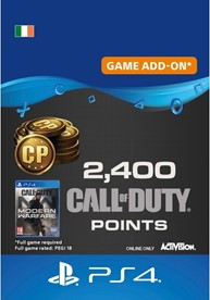 2,400 Call of Duty: Modern Warfare Points - PS4