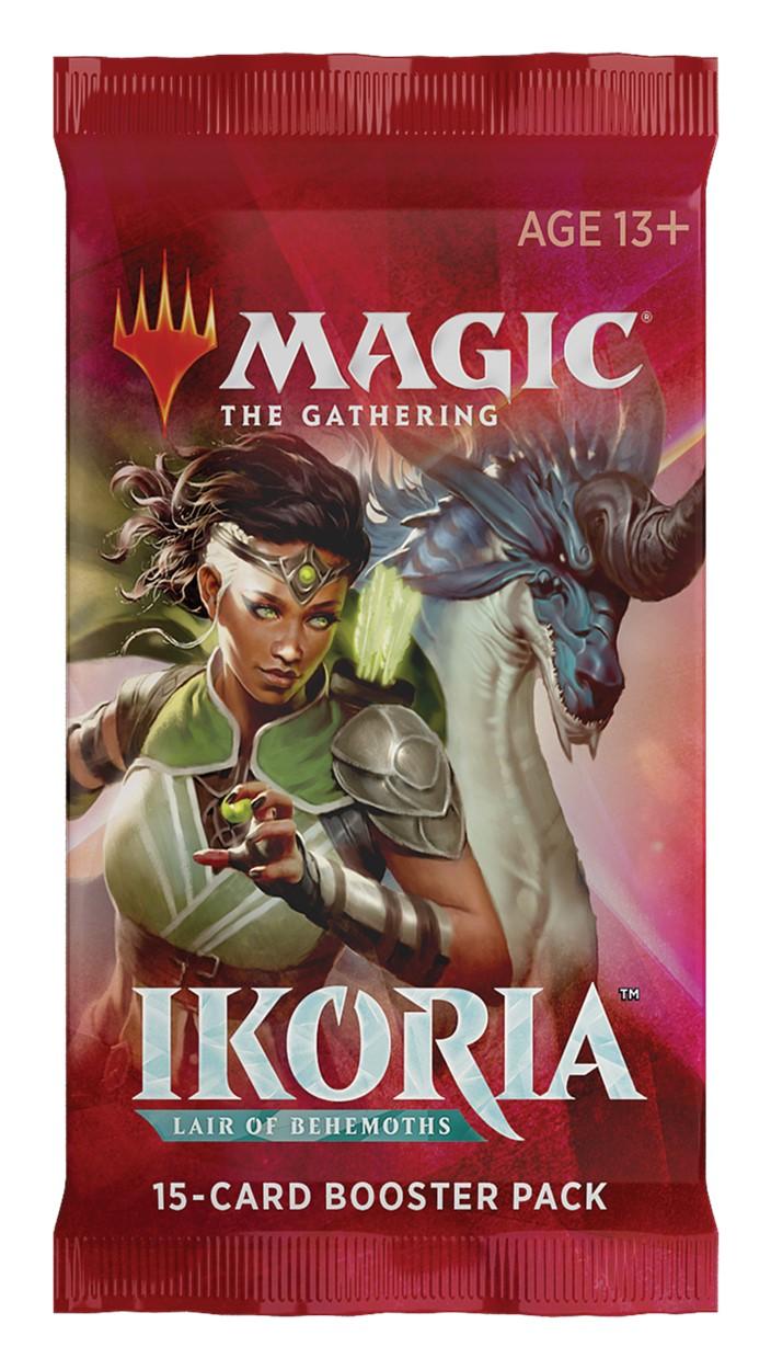Magic The Gathering: Ikoria - Lair of Behemoths Booster Pack