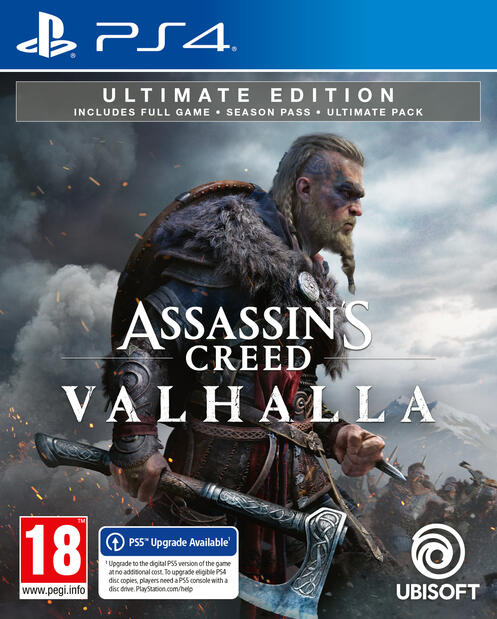 assassins creed valhalla ps4 game