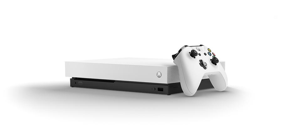 Xbox One X Robot White Special Edition Console