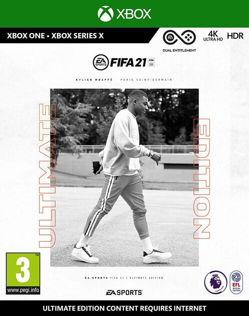 Fifa 21 Ultimate Edition [Includes Free Upgrade to Xbox Series X]