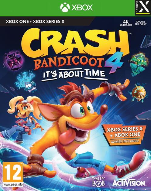 Crash Bandicoot 4 It S About Time Gamestop Ireland