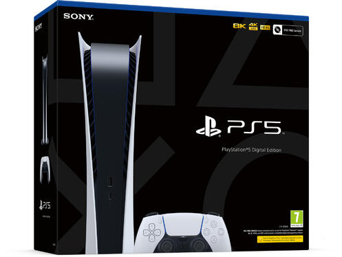 PlayStation®5 Digital Edition Console [Not all pre-orders guaranteed for Launch Day]