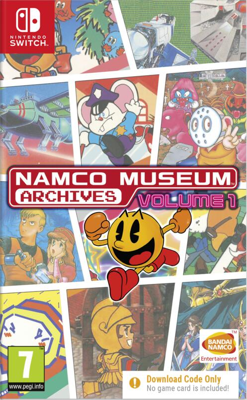 Namco Museum Archives. Volume 1