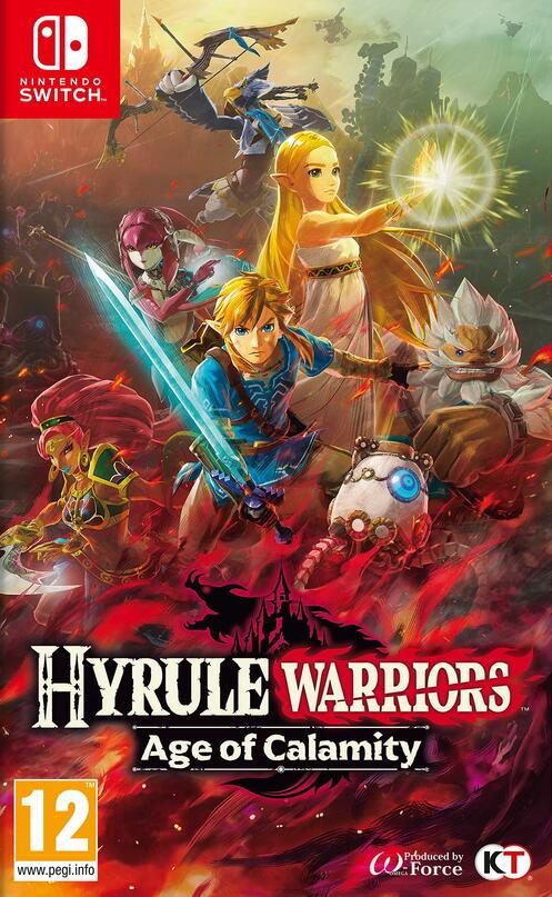 Hyrule Warriors Age Of Calamity Gamestop Ireland
