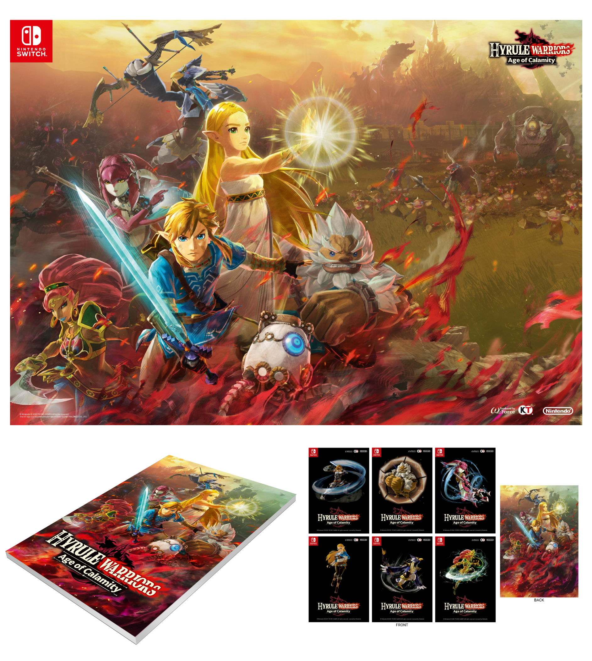 Hyrule Warriors Age Of Calamity Gamestop Ireland