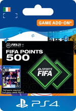 FIFA 21 Ultimate Team™ - 500 FUT Points for PS4