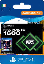 FIFA 21 Ultimate Team™ - 1600 FUT Points for PS4