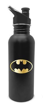 DC Comics: Batman Logo Metal Water Bottle