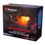 Magic The Gathering: Adventures In The Forgotten Realms Bundle - 10 Draft Boosters & Accessories