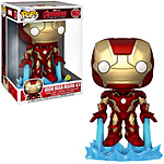 Funko POP! Jumbo: Iron Man Glow in the Dark 10-In Vinyl Figure
