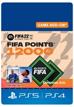 FIFA 22 Ultimate Team ™ - 12000 FIFA Points for Playstation