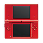Nintendo DS Light Red Console